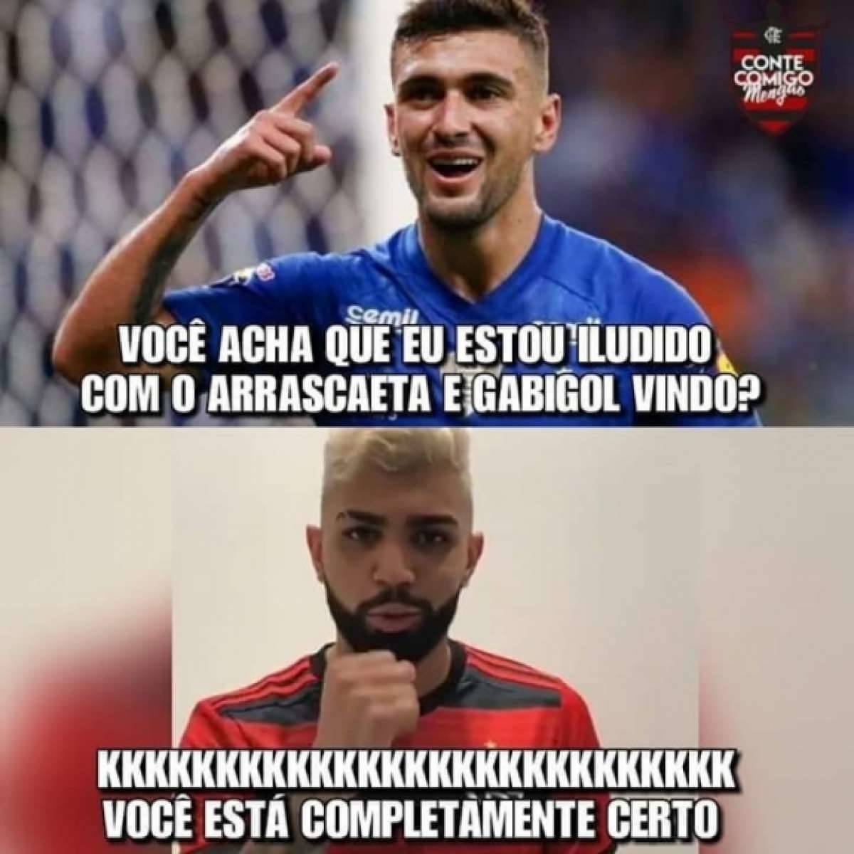 d8a75e99b3 Torcida do Flamengo encheu a Internet de memes Reprodução Internet