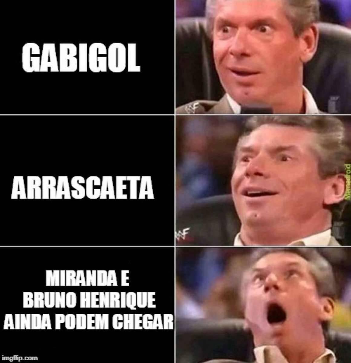 0831928bb6 Torcida do Flamengo encheu a Internet de memes Reprodução Internet