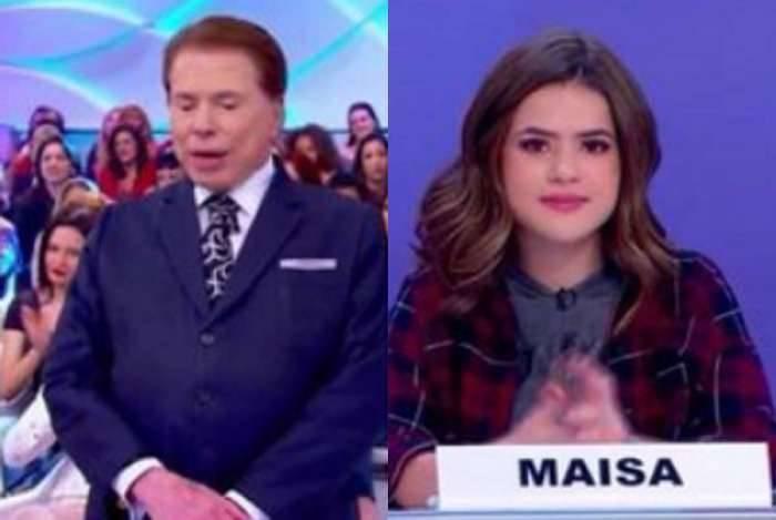 Maisa explica para Silvio Santos o que é 'bicha'