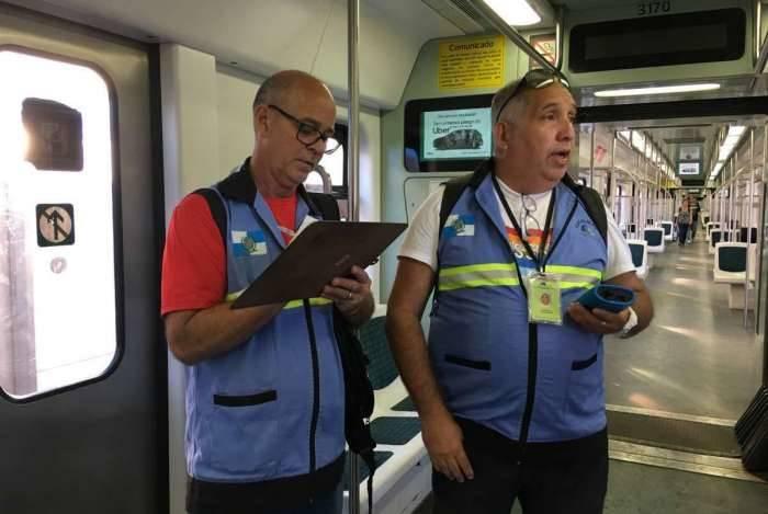 Agetransp inicia fiscalização nos trens da Supervia para avaliar possíveis falhas no sistema de refrigeração