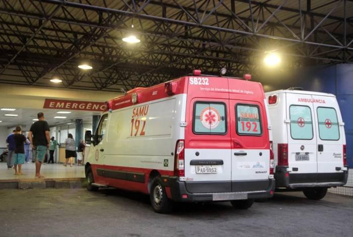 Apenas metade da frota de ambulâncias do Samu está operando durante a greve; funcionários estão há dois meses sem salários