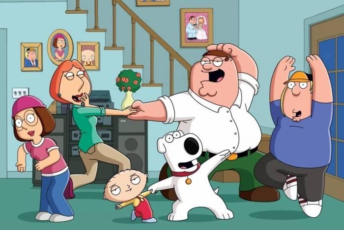 'Family Guy' ou 'Uma Família da Pesada' é exibido pelo canal Fox no Brasil