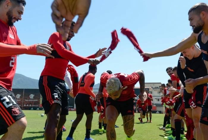 Corredor polonês no Flamengo