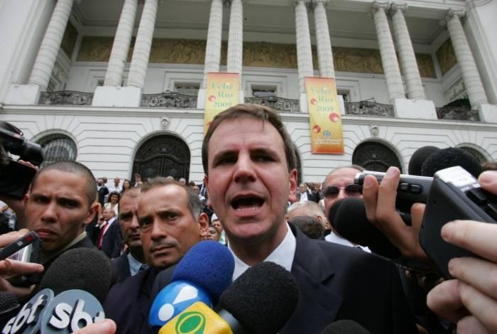 Ex-prefeito Eduardo Paes
