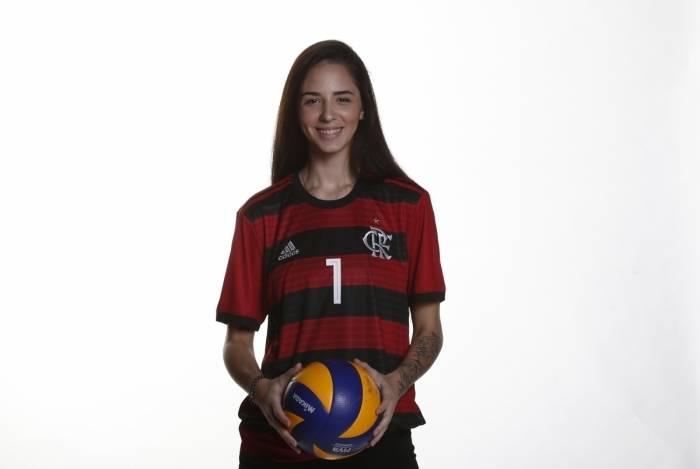 A jogadora Juliana Mello destaca a alta competitividade da Superliga B