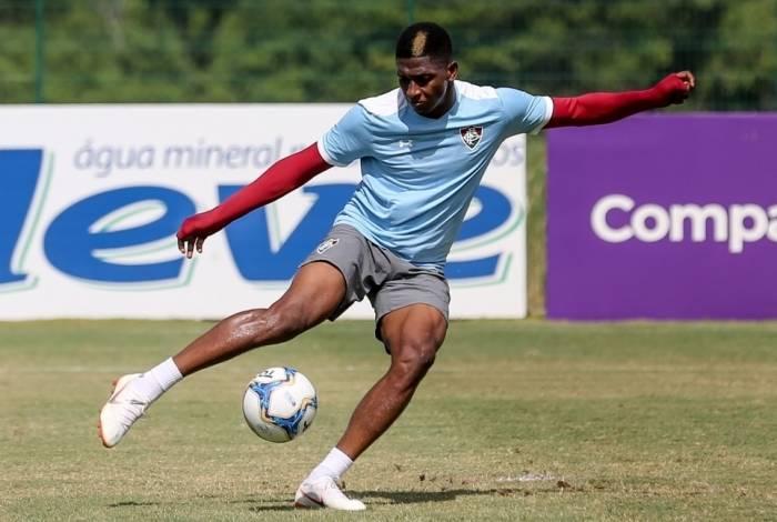 O colombiano Yony González será o responsável pelos gols do Fluminense hoje à noite