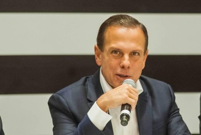 Governador de São Paulo, João Doria (PSDB/SP)