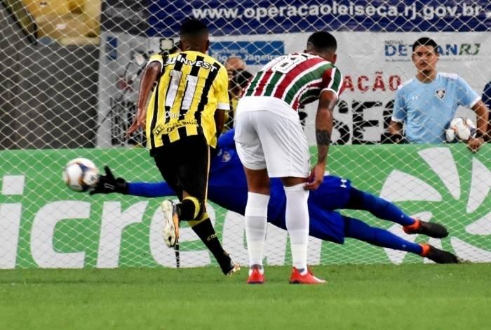 Fluminense e Voltaço ficaram no 1 a 1