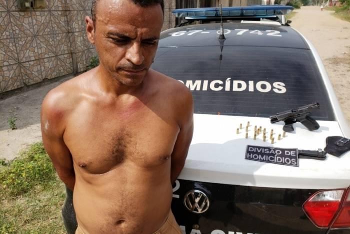 Marcio da Churrasqueira rodou com pistola em Itambi, Itaboraí