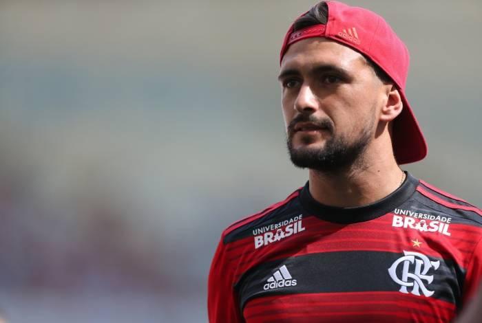 Arrascaeta teve atuações discretas pelo Flamengo