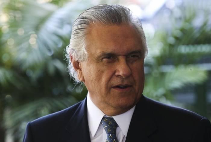Governador Ronaldo Caiado rompeu com o presidente Bolsonaro