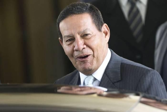 Vice-presidente do Brasil, Hamilton Mourão fez comentários sobre o atual momento político do país