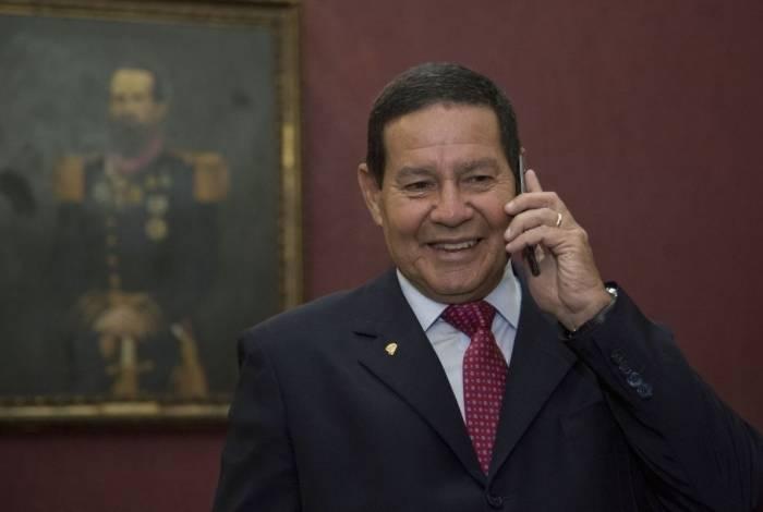 Vice-presidente General Hamilton Mourão