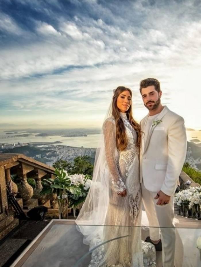 Casamento de DJ Alok e Romana Novais
