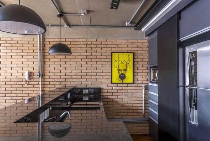 Tubulação aparente pode dar um ar moderno e despojado na decoração de casa