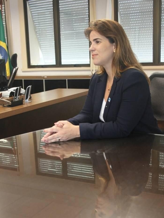 Secretária de Desenvolvimento Social e Direitos Humanos, Fabiana Bentes