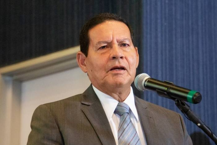Vice-presidente, General Hamilton Mourão