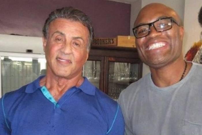 Sylvester Stallone e Anderson Silva