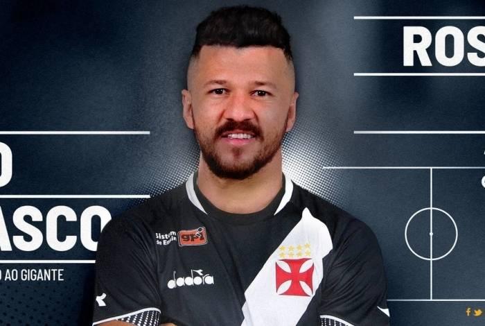 Rossi é o novo atacante do Vasco