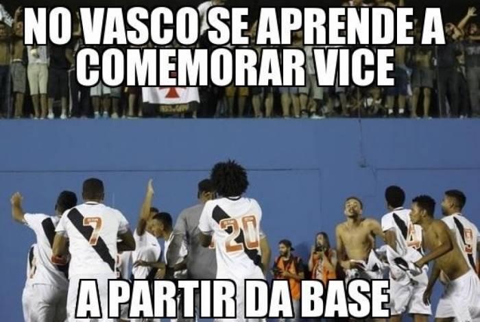 Vasco foi derrotado na Copinha