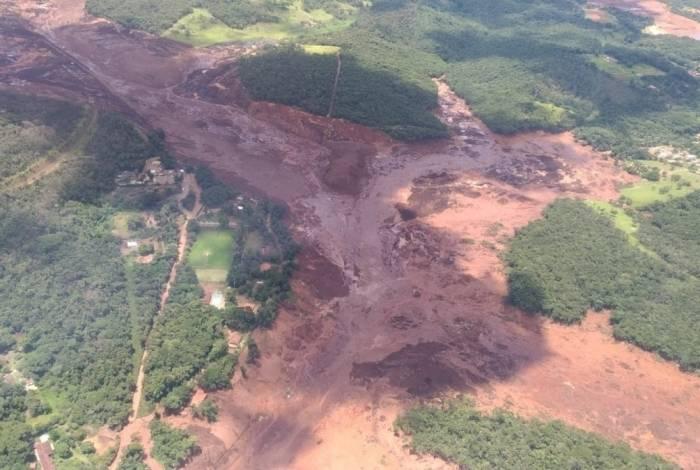 Rompimento de barragem em Brumadinho