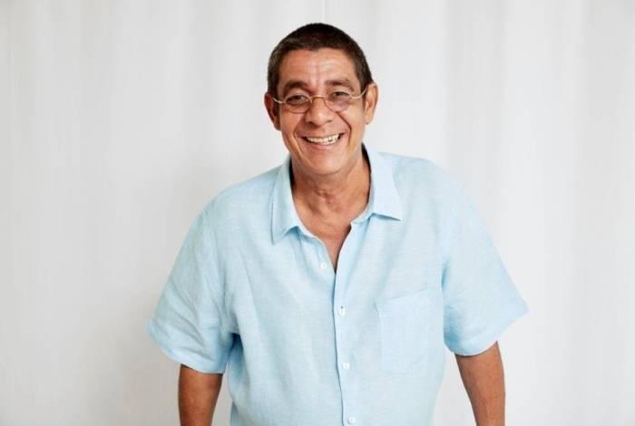 Cantor e compositor Zeca Pagodinho