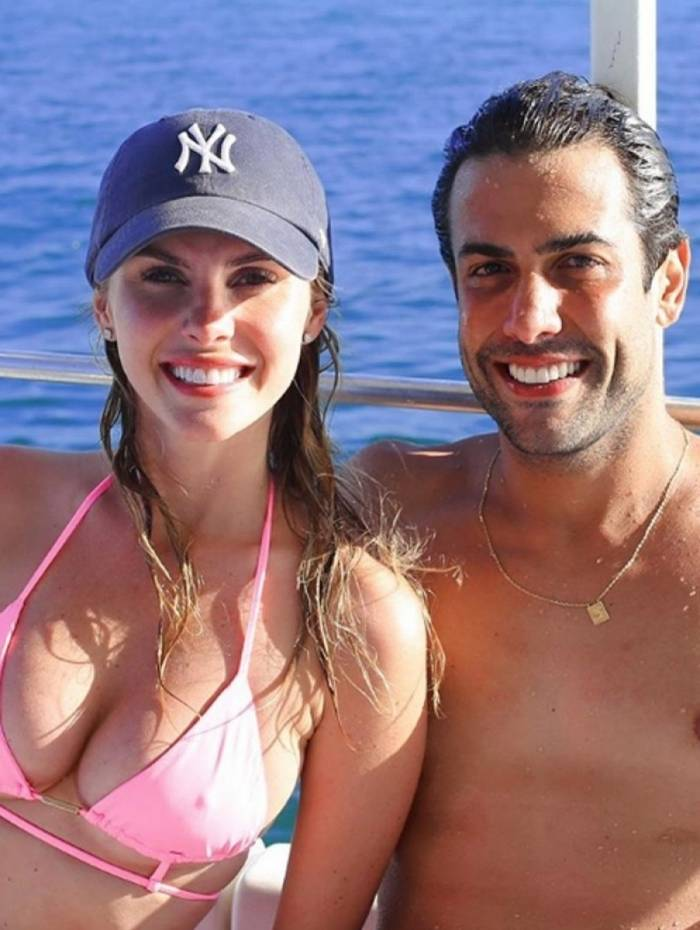 Bárbara Evans e o namorado, Gustavo Theodoro