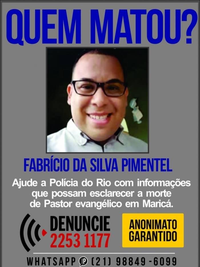 Disque Denúncia pede informações sobre quem matou pastor em Maricá