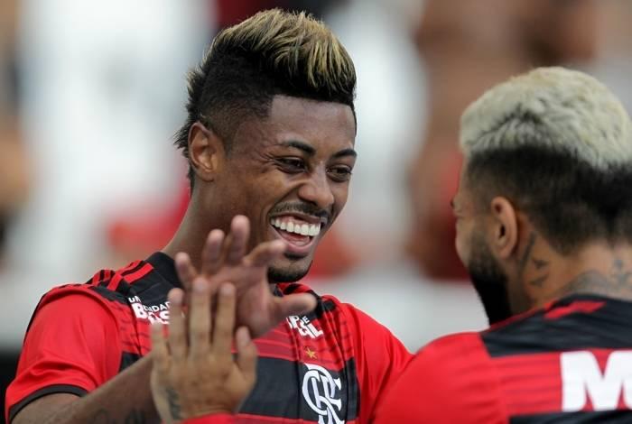 Bruno Henrique e Gabigol