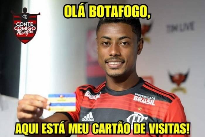 Flamengo derrotou o Botafogo