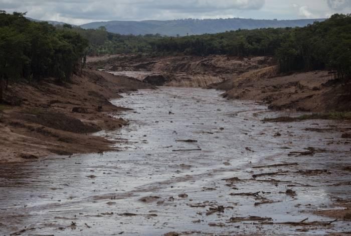 Área afetada pelo rompimento de barragem da Vale em Brumadinho, Minas Gerais
