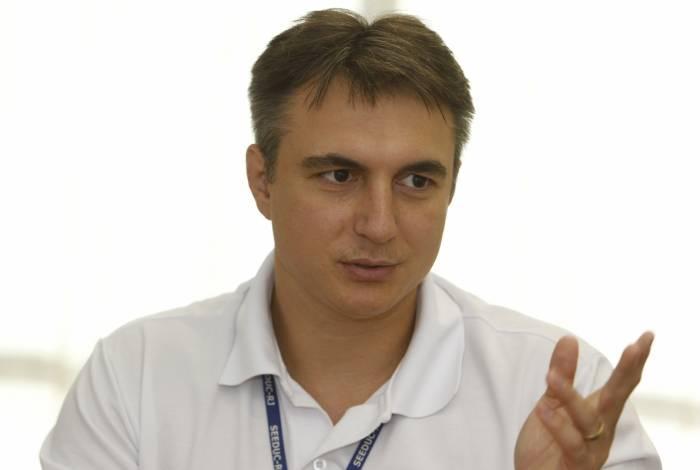 Secretário estadual de Educação, Pedro Fernandes