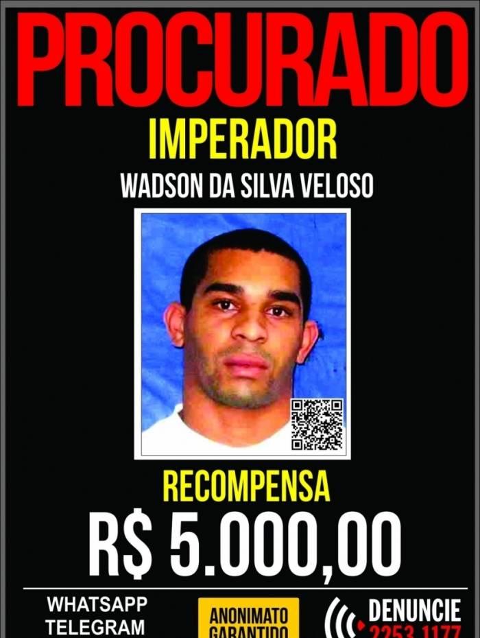 Disque Denúncia pede informações sobre participante de ataque a PMs da UPP Rocinha