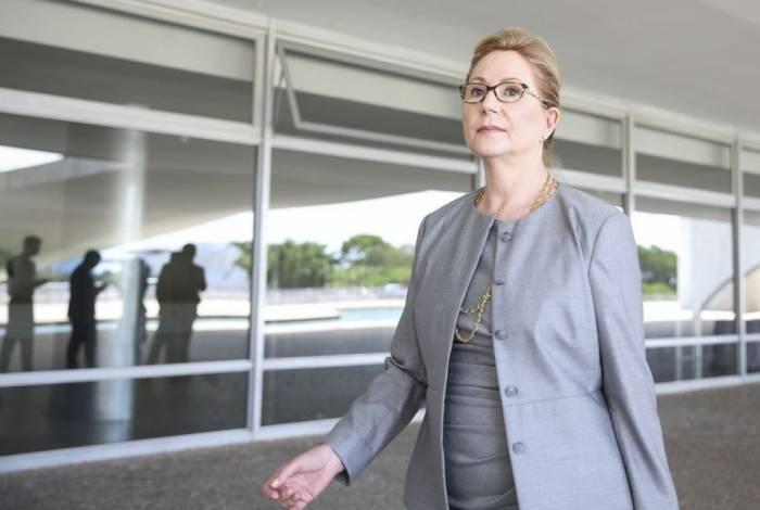 A ex-ministra do Supremo Tribunal Federal Ellen Gracie vai coordenar o comitê que apurará as causas do rompimento da barragem da Vale em Brumadinho (MG)