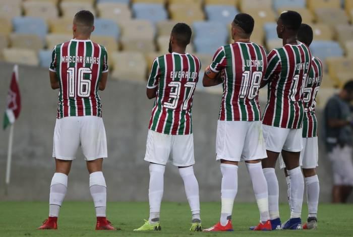 30/01/2019 - Campeonato Carioca de Futebol 2019 - Jogo entre as equipes do Fluminense x Madureira, no estdio do Maracana. Foto de Alexandre Brum / Agencia O Dia