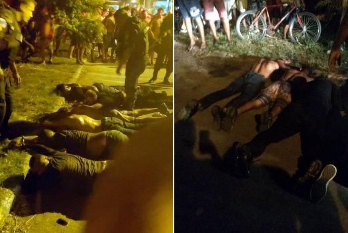 Doze pessoas foram presas na ação