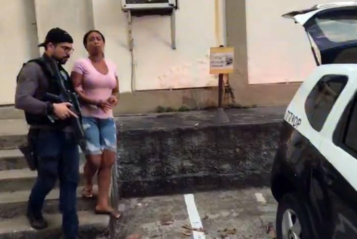 Monique Pereira de Almeida é esposa do traficante Reinaldo Medeiros Ignácio