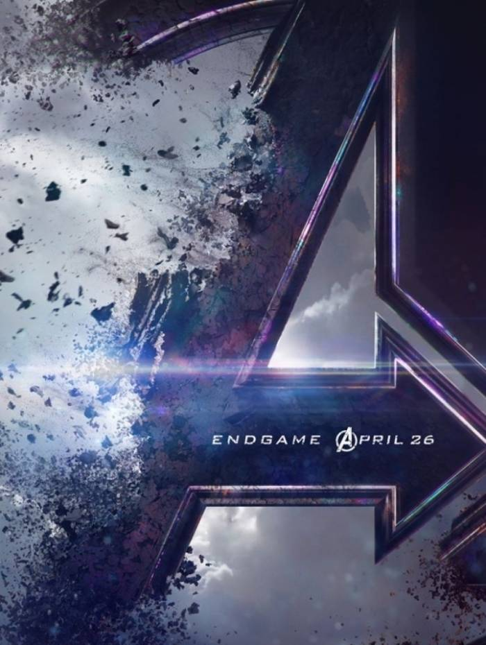 Poster oficial do filme Vingadores: Ultimato
