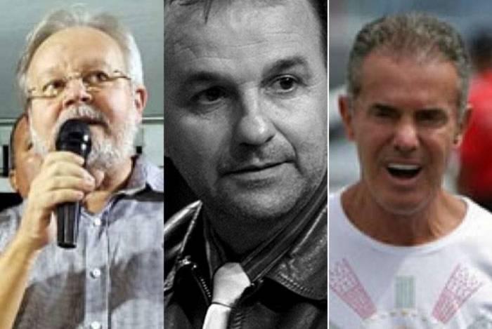 Luiz Martins (PDT), Marco Abrahão (Avante) e Chiquinho da Mangueira (PSC) estão entre os deputados que tomaram posse mesmo presos
