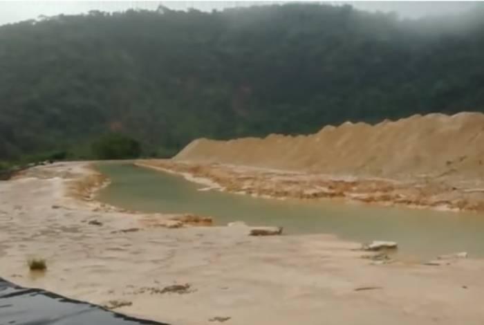 Barragem Mina Engenho está abandonada em Rio Acima, na Grande Belo Horizonte