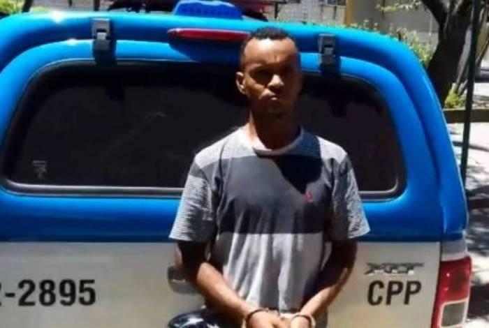 Willian Rodrigues dos Santos foi preso na Avenida Brasil