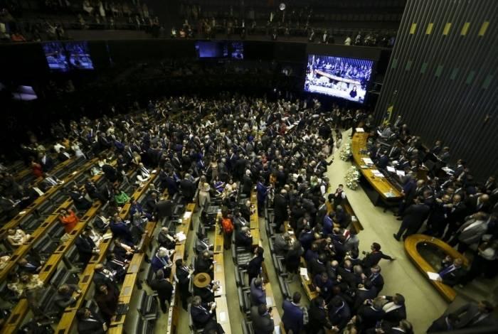 Sessão de posse dos Deputados Federais para a 56ª Legislatura.