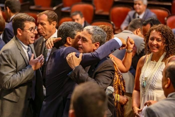 Deputado André Ceciliano é eleito presidente da Alerj