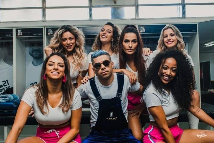 Bailarinas do Faustão participam do clipe de 'Passinho do Neymar'