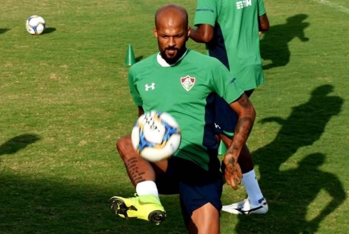 Bruno Silva perdeu espaço no Fluminense