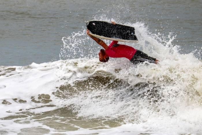 Praia do Farol de São Thomé vai receber mais uma etapa do Circuito Eco Bodyboard