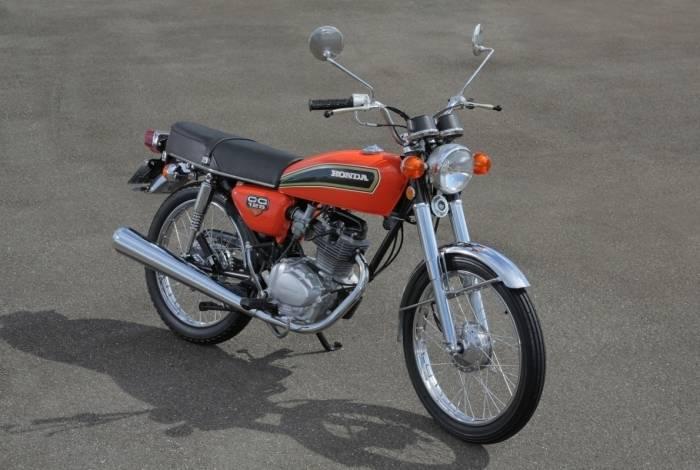 Primeira geração da Honda CG 125 nacional. Modelo saiu da linha de produção da marca em Manaus, em 1976.