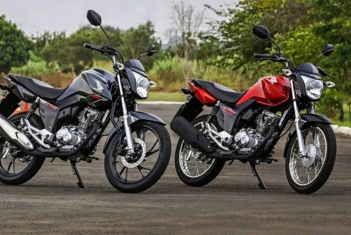 be7d7335e67 A CG 160 foi a moto mais vendida entre janeiro e junho, com mais de