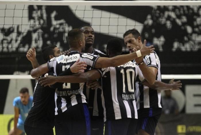 Time de vôlei do Botafogo sonha com uma vaga na elite