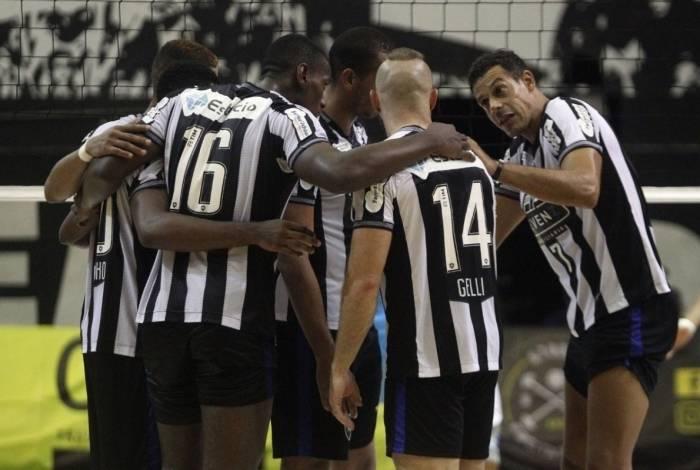 Time de vôlei do Botafogo disputa a Superliga B